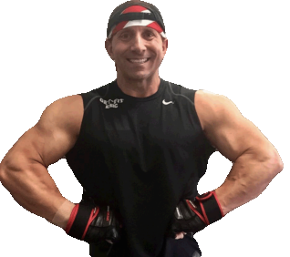Eric Weaver arms muscle pose